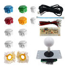 Arcade DIY Kit Part Controller Button Joystick for PC MAME RetroPie Raspberry Pi