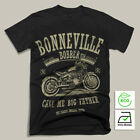 NEW BLACK Bonneville Bobber Retro Biker T-shirt triumph Front Motorcycle $22.0 USD on eBay