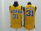 Reggie Miller #31 Indiana Pacers Throwback Basketball Jersey Stitch S-2XL Yellow on eBay