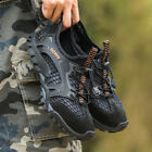 Outdoor Mens Sports Hiking Climbing Quick Dry Sneakers Water Black Shoes Size 12