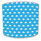 Children`s Lampshades Ideal To Match Clouds Wallpaper Border & Clouds Wall Art