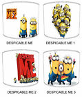 Despicable Me Designs Lampshades, Ideal To Match Despicable Me Duvets & Decals