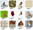Christmas Retro Robin Lampshades Ideal To Match Robin Duvets & Robin Wall Decals