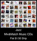 Jazz(4) - Mix&Match Music CDs U Pick *NO CASE DISC ONLY*