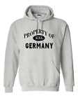 Pullover Hooded Hoodie Unique City State Country Sweatshirt Property Of Germany