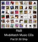 R&B(6) - Mix&Match Music CDs U Pick *NO CASE DISC ONLY*
