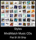 Styles(6) - Mix&Match Music CDs U Pick *NO CASE DISC ONLY*