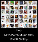Pop(19) - Mix&Match Music CDs U Pick *NO CASE DISC ONLY*