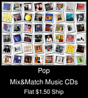 Pop(20) - Mix&Match Music CDs U Pick *NO CASE DISC ONLY*