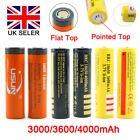 Protected BRC 18650 Rechargeable Li-ion Battery 4000mAh 3.7V Lithium Cell UK SUN