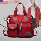 Women Waterproof Nylon Shoulder Bags Messenger Bag Large Capacity Crossbody Bags