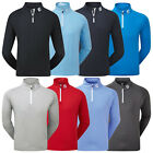 FootJoy Mens Chill Out Half Zip Pullover Top - FJ Golf Long Sleeve Sweater Tour