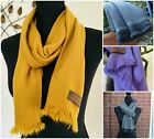 Warm Pure Cashmere Scarf Scarves Handmade Beautifully Soft