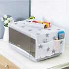 Dust-proof Microwave Oven Cover With Double Pocket Bag Home Kitchen Accessory