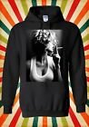 Sexy Smoking Inhale Girl Novelty Men Women Unisex Top Hoodie