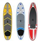 """TOP 120x30x6"""" Inflatable Surf Stand Up Board iSUP W/ Paddle & Hand Pump Backpack"""