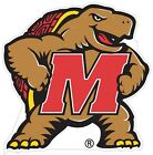 Maryland University Terrapins Color Decal Sticker - New You Pick Size Cornhole