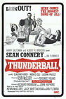 Thunder Ball 5 Movie Poster Canvas Picture Art Print Premium Quality A0 - A4 £49.49 GBP on eBay