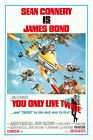 You Only Live Twice 4 Movie Poster Canvas Picture Art Print Premium A0 - A4 £2.49 GBP on eBay