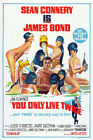 You Only Live Twice 8 Movie Poster Canvas Picture Art Print Premium A0 - A4 £10.49 GBP on eBay