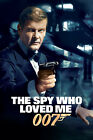 The Spy Who Loved Me 2 Movie Poster Canvas Picture Art Print Premium A0 - A4 £18.59 GBP on eBay