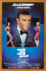 Never Say Never Again 4 Movie Poster Canvas Picture Art Print Premium A0 - A4 £15.66 GBP on eBay