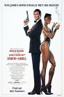 A View to a Kill 3 Movie Poster Canvas Picture Art Print Premium Quality A0 - A4 £15.66 GBP on eBay