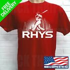 PHILADELPHIA PHILLIES RHYS HOSKINS T-SHIRT on Ebay