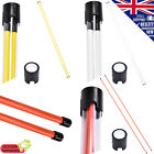 NEW Golf Practice Training Aid Golf Alignment Sticks 2PC Yellow, Orange, White