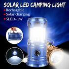 Solar Rechargeable LED Flashlight Multifunction Camping Tent