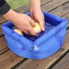 Portable 8L Outdoor Camping Foldable Water Bucket Inflatable TS