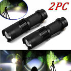 Tactical Police 80000LMS T6 LED Rechargeable Flashlight Torch Super Bright Light