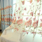 Luxury curtain sheers pleated drapes tulle Tailor-made embroidery curtain head