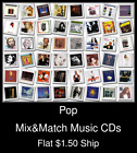 Pop(37) - Mix&Match Music CDs U Pick *NO CASE DISC ONLY*