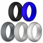 Kyпить Rubber Silicone Wedding Ring Band Sport Outdoor Flexible Men Women Gifts на еВаy.соm