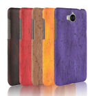 For Huawei GR5 Mini GR3 2017 Mate 9 Luxury Hard Back Matte Leather+PC Cover Case