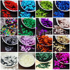 Round Loose Sequins Paillettes DIY Sewing Decor for Clothing Bag Shoes Craft 6mm
