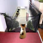 US Mesh Magic Pet Dog Gate Safe Guard Retractable Install Anywhere Fence Folding