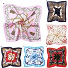 Women Elegant Square Silk Satin Scarf Small Vintage Head Neck New Arrival