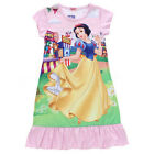 Disney Children Kids Girls Party Pajama Nightgown Sleepwear Dress Age 3-10 Years