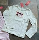 NWT Size 8 Gymboree SWEETER THAN CHOCOLATE Pants Top Pink Brown Ivory Cake