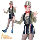 Adult Rocky Horror Show Columbia Costume Ladies TV Film Fancy Dress Outfit