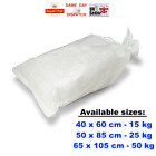 1 - 100 WOVEN LARGE HEAVY DUTY RUBBLE SAND BAG SACKS POLYPROPYLENE CHEAPEST
