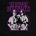 WWF HART FOUNDATION *RARE CUSTOM WRESTLING ART* Shirt *FULL FRONT OF SHIRT* image