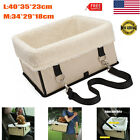 Pets Car Seat With Zipper Booster Safe Car Box For Pets 5kg Dogs Carrier Storage