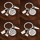Family Gift For Dad Uncle Grandpa Keychain Hammer Axe Charm Tools Key Rings New