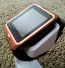 Waterproof Smart Watch Bluetooth Unlocked Android Samsung LG HTC Men Women Gold
