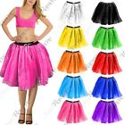 New Womens 3 Layers Fancy Dress Hen Night Dance Wear Party 18'' Long Tutu Skirt