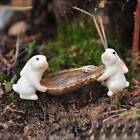 Внешний вид - Mini Rabbits Animal Miniature Fairy Garden Moss Micro Landscape Ornament Toys