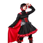 RWBY Crescent Ruby Rose Cosplay Costume Dress Halloween Uniform Clothes Full Set